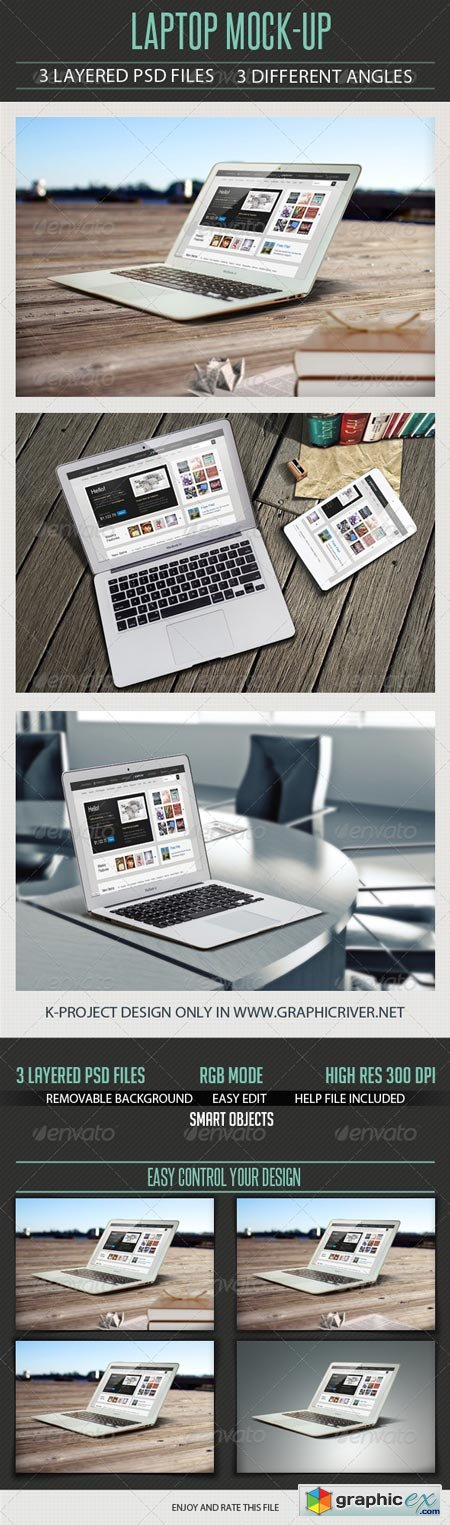 Laptop Mock Up 6527958