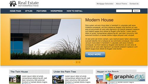 Real Estate – Theme for WordPress – HotThemes