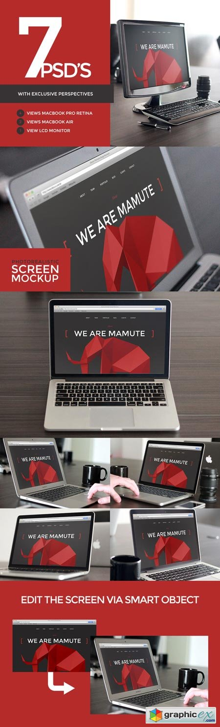[25%OFF]Photorealistic Screen Mockup 17968