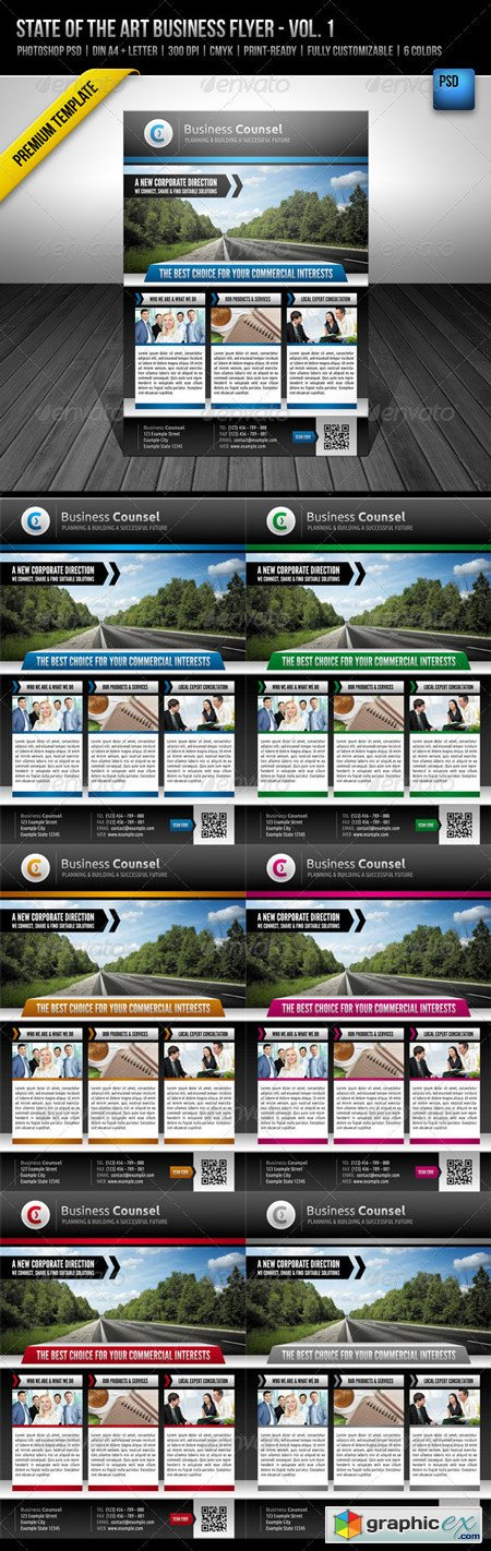 State of the Art Business Flyer - Vol.1 2521298