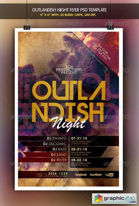 Outlandish Night Flyer 6326423