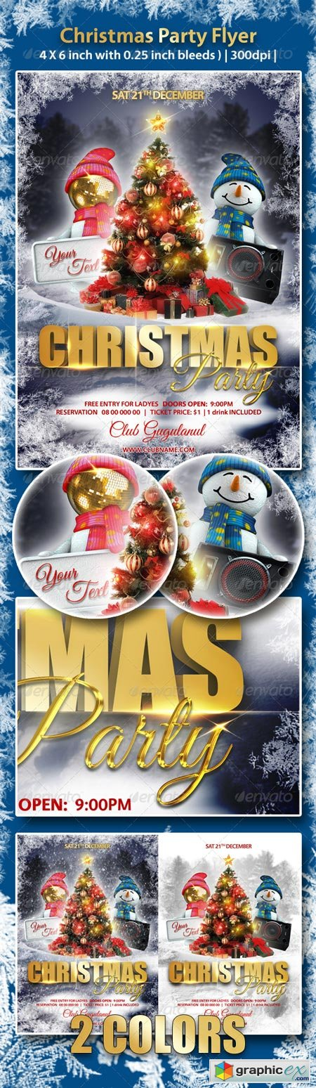 Christmas Party Flyer 6273748