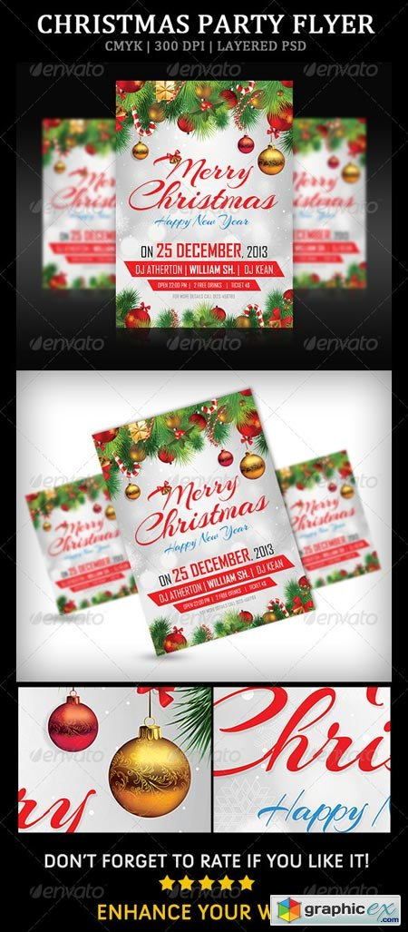 Christmas Party Flyer 6273266
