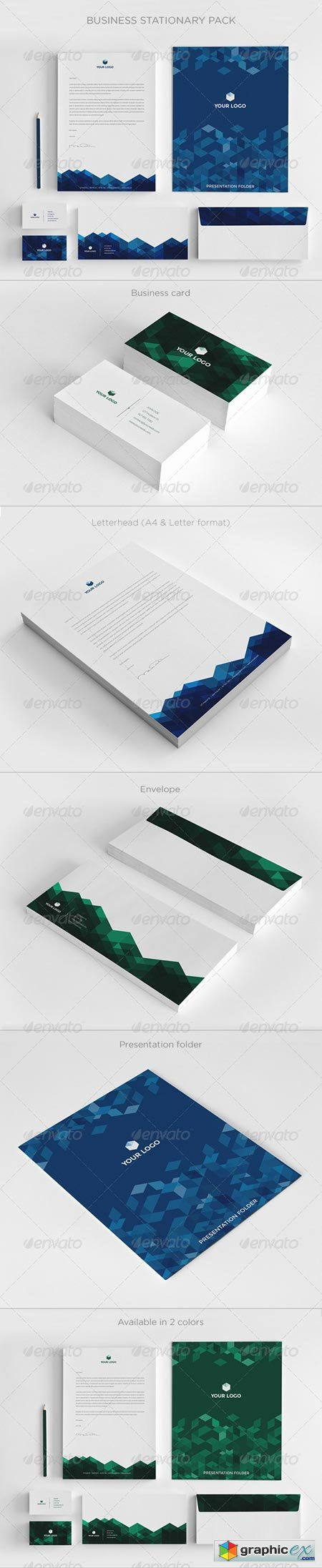 Business Stationary Pack II 6380354