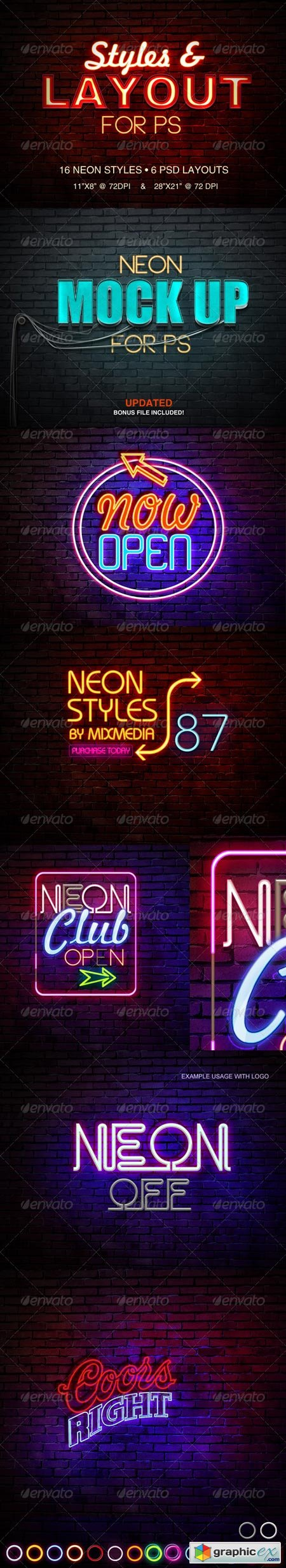 Neon Sign Styles 6110750