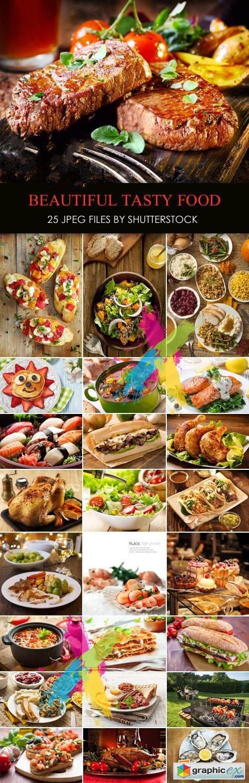Stock Photo - Beautiful Tasty Food