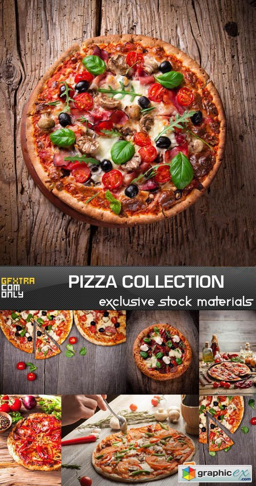 Pizza Collection, 25xUHQ JPEG