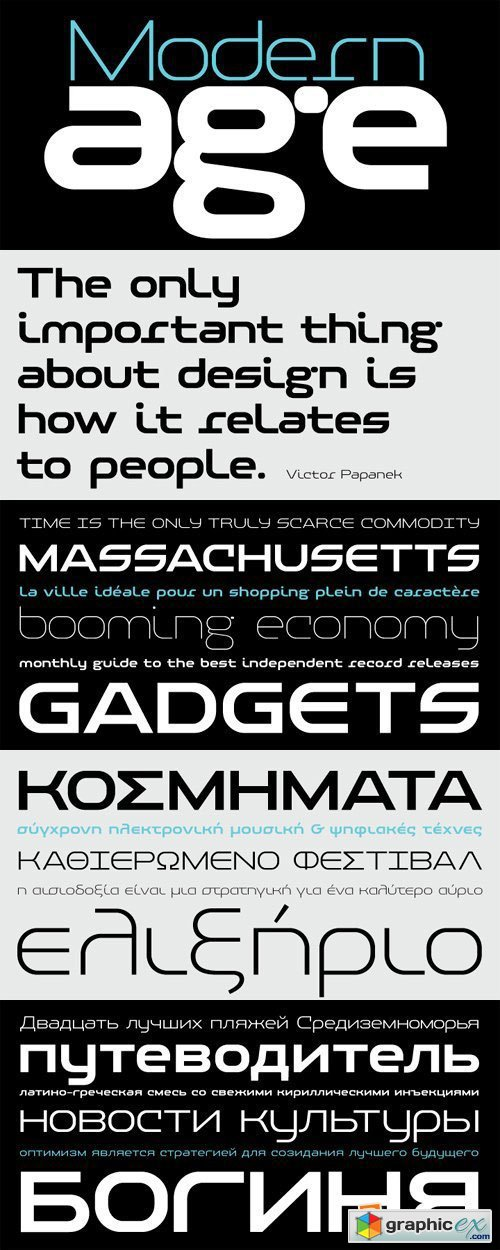 PF Baseline Pro Font Family - 6 Fonts for $345