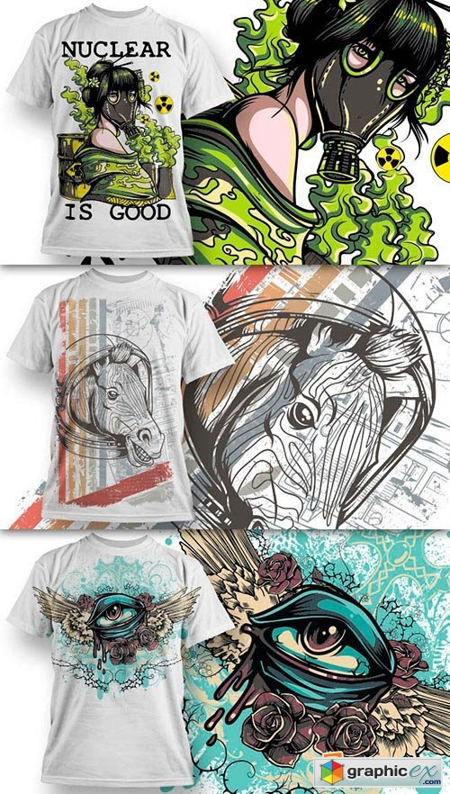 T-Shirt Design Collection 1