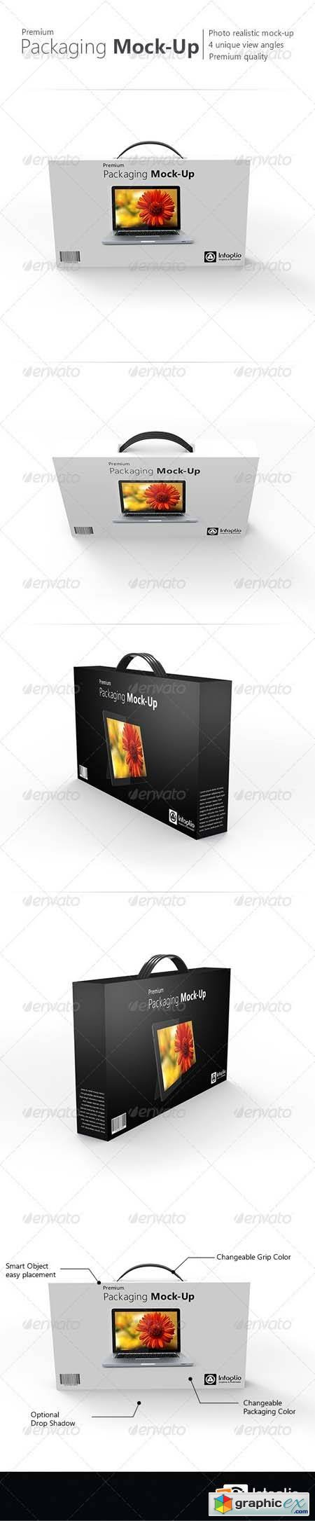 Premium Packaging Mock-Up Template