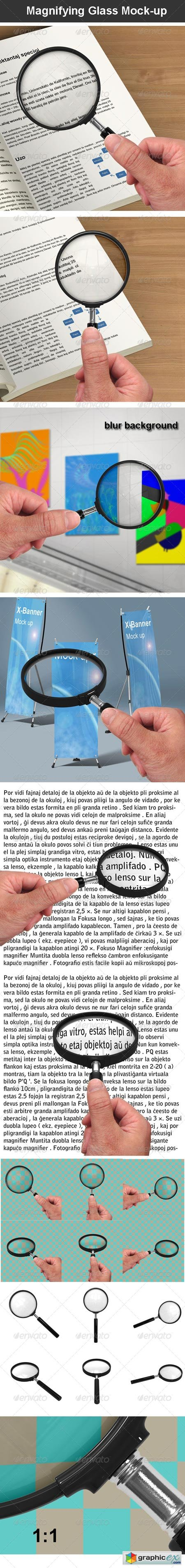 Magnifying Glass Mock-up 6907540