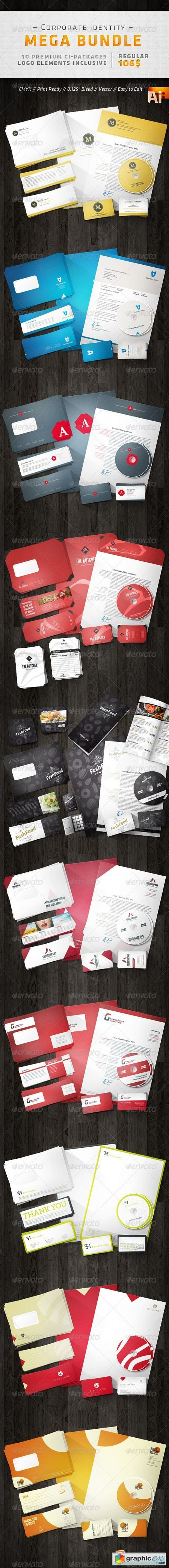 Corporate Design Mega Bundle 2078406