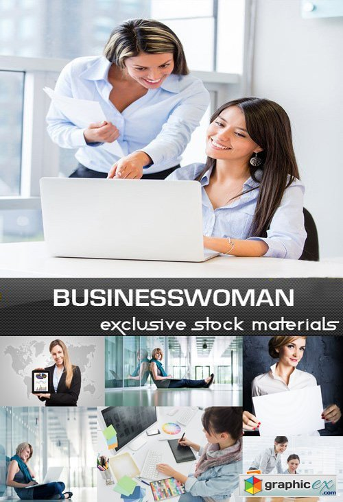 Businesswoman Collection, 25 UHQ JPEG