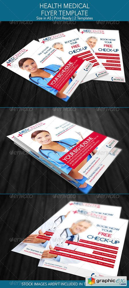 Health Medical Flyer Template