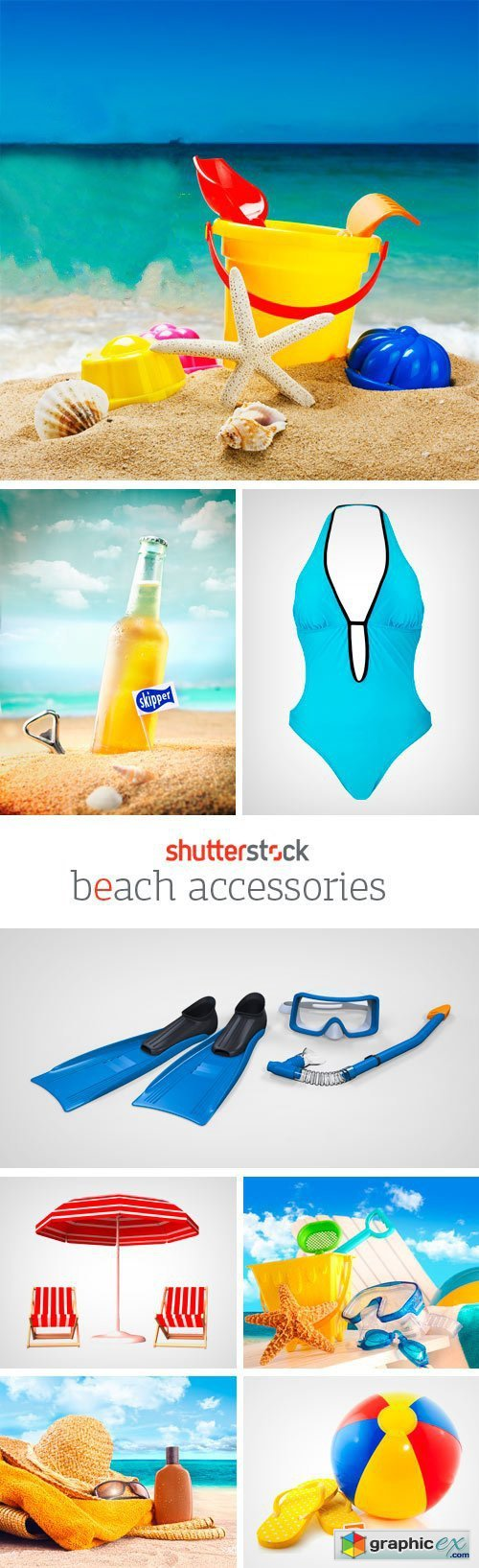 Amazing SS - Beach Accessories, 25xJPGs