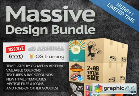 Ultrashock's Massive Design Bundle $1,274 Worth of Items for Only $49