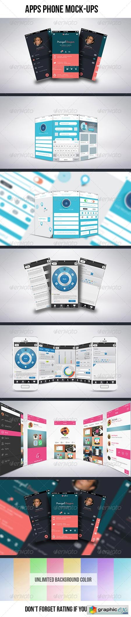 Apps Phone Mock-ups 6872442