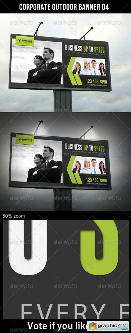 Corporate Outdoor Banner 06