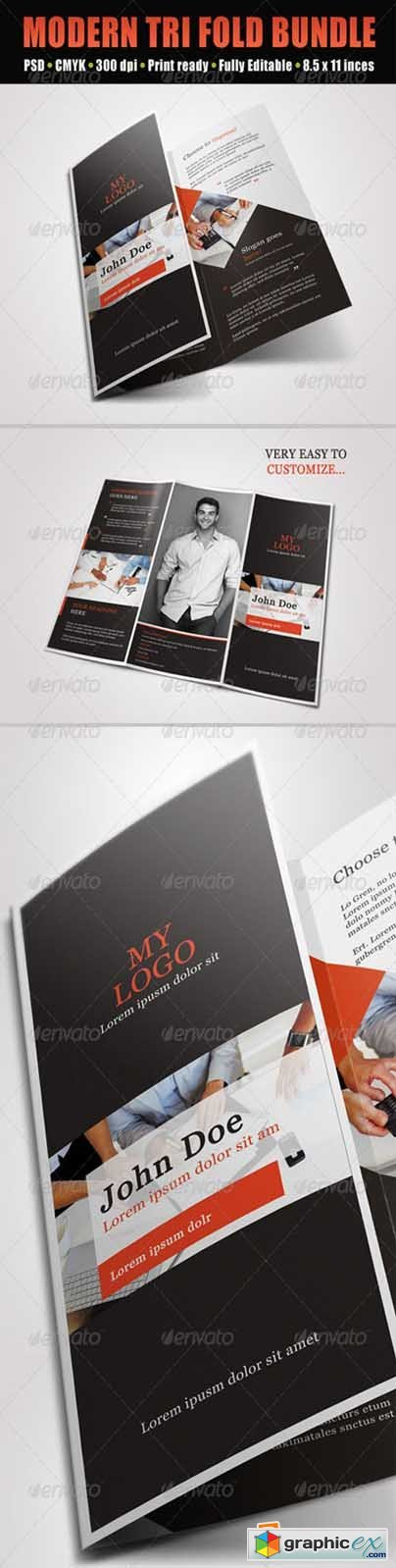 Trifold Brochures Bundle
