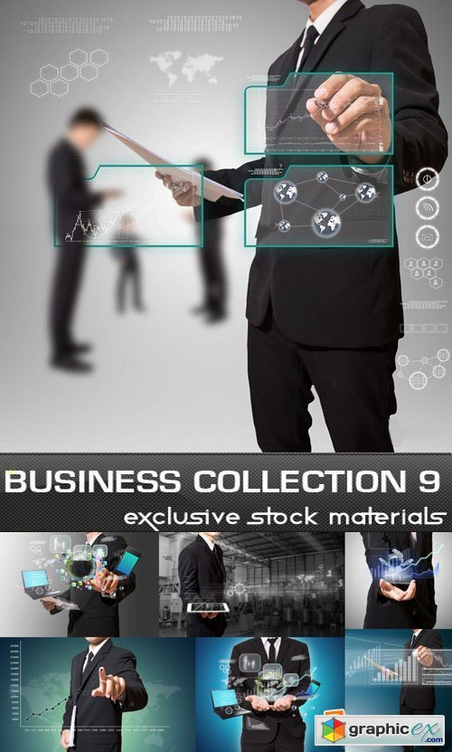 Business Collection, 25xUHQ JPEG