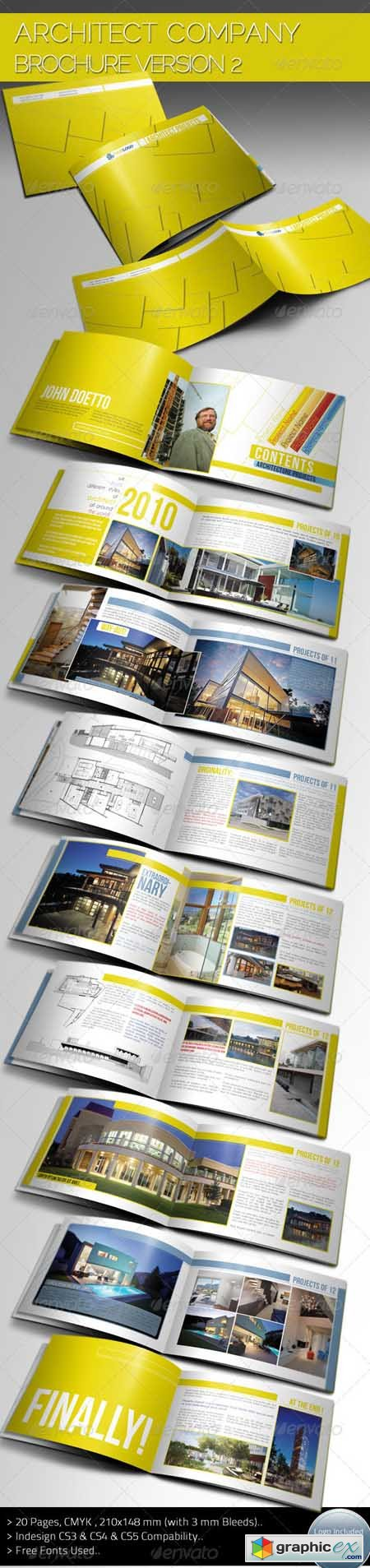 Architecture Brochure Template Ver.II