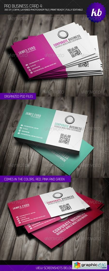 Pro Business Card 4