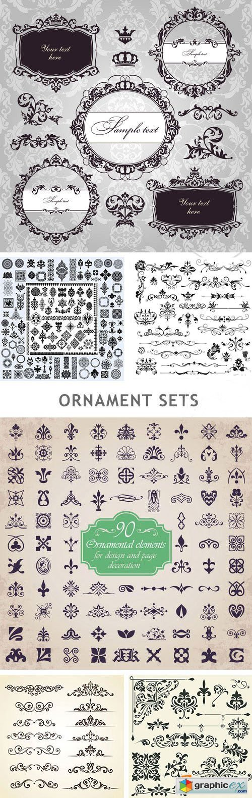 Ornament Sets - 25xEPS