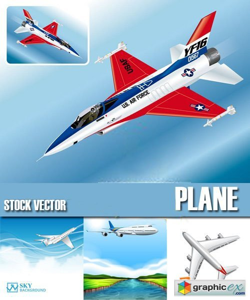 Planes & Jets 25xEPS