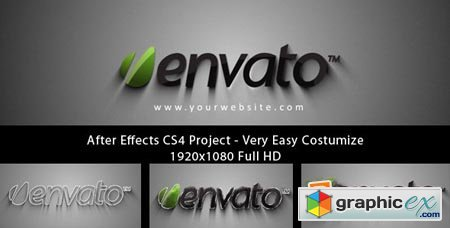 Videohive Form Logo Reveal After Effects Project