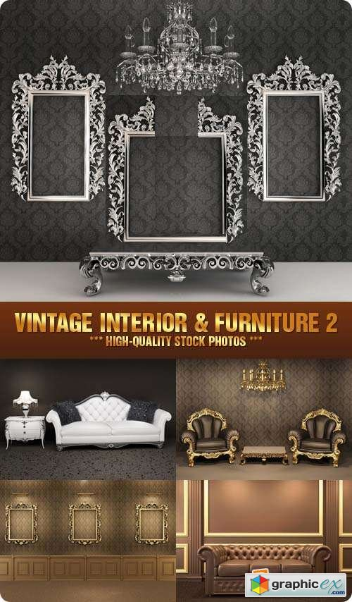 Stock Photo - Vintage Interior & Furniture 2
