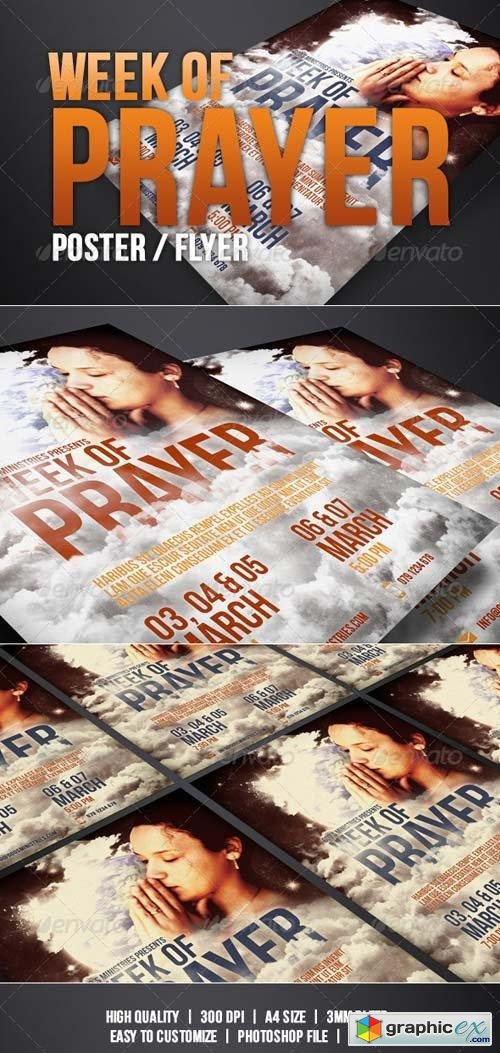 Week of Prayer of Poster / Flyer