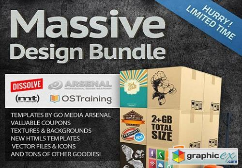 Ultrashock's Massive Design Bundle: $1,274 Worth of Items