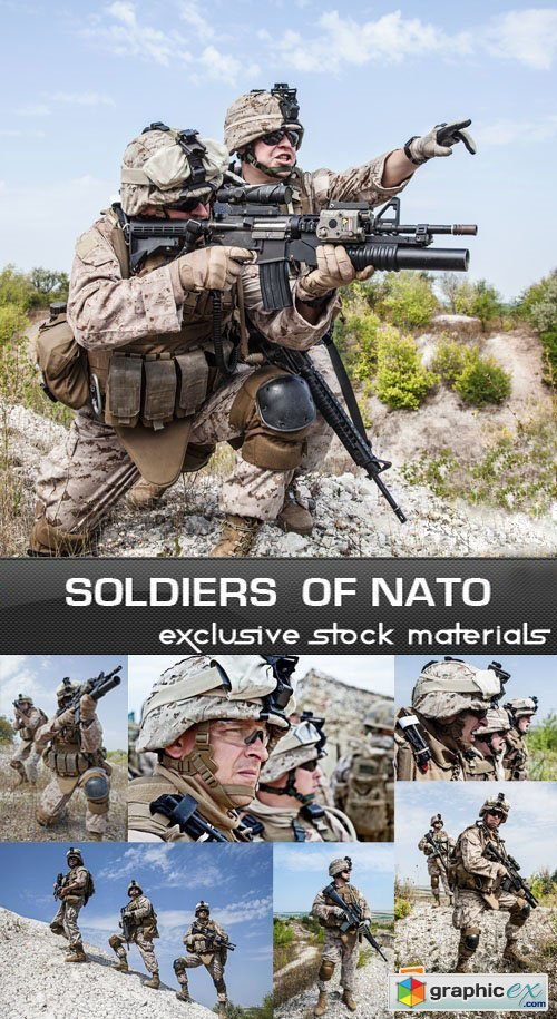 Soldiers of NATO, 25xUHQ JPEG