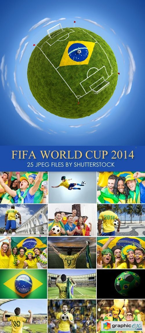 Stock Photo - FIFA World Cup 2014 in Brazil