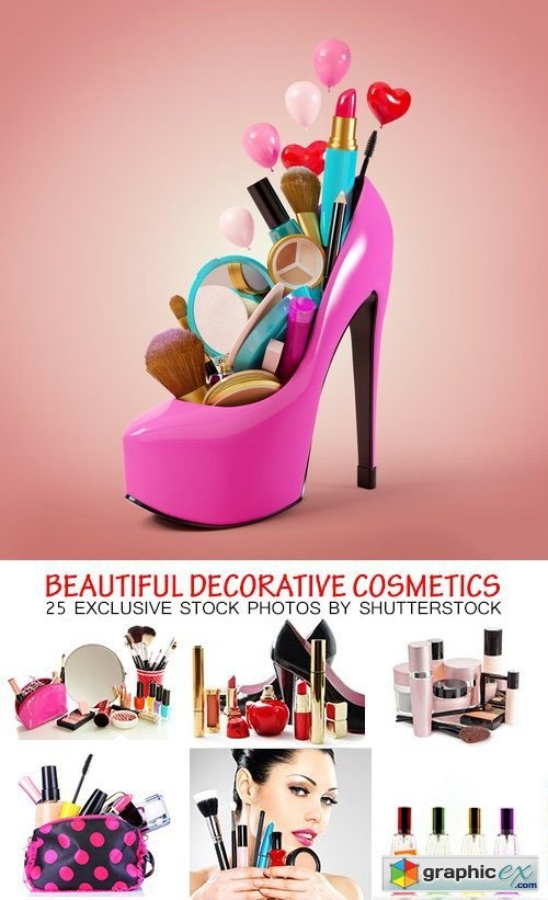 Amazing SS - Beautiful decorative cosmetics, 25xJPG