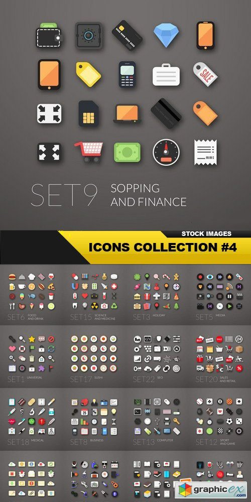 Icons Collection #4 - 25 Vector