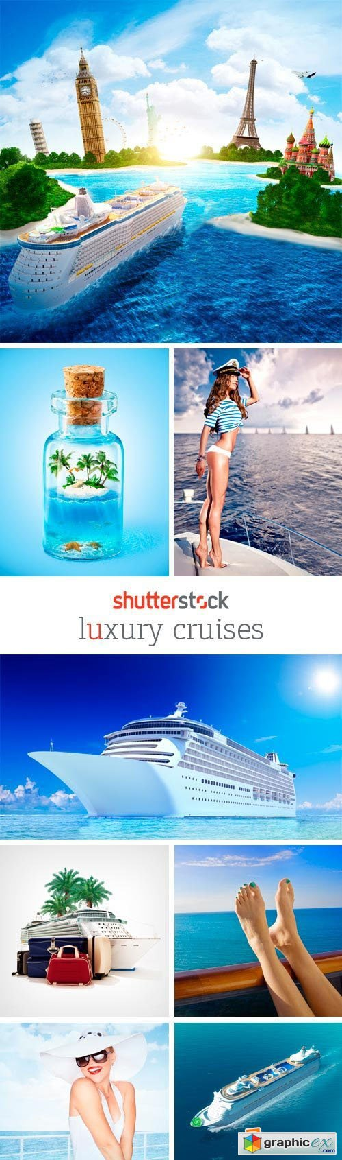 Amazing SS - Luxury Cruises 25xJPG