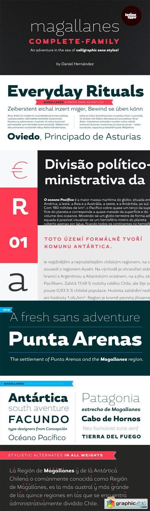 Magallanes Font Family - 16 Fonts for $299