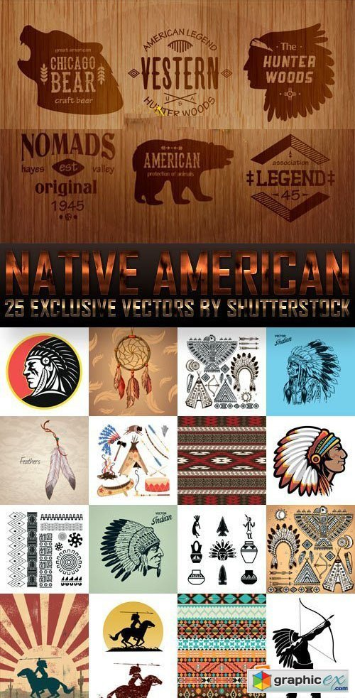 Amazing SS - Native American, 25xEPS