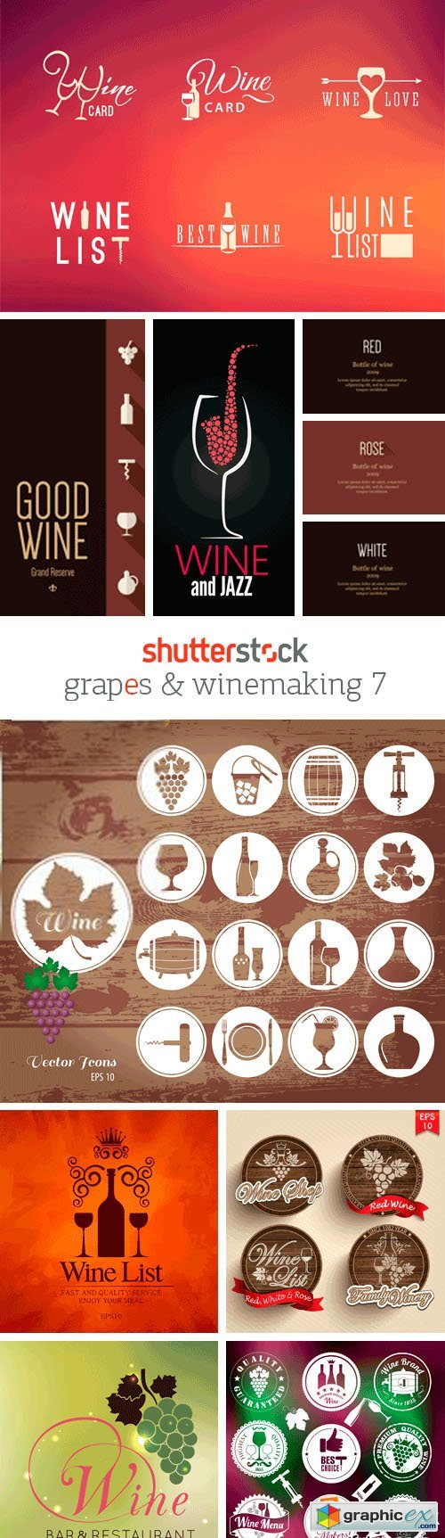 Amazing SS - Grapes & Winemaking 7, 25xEPS