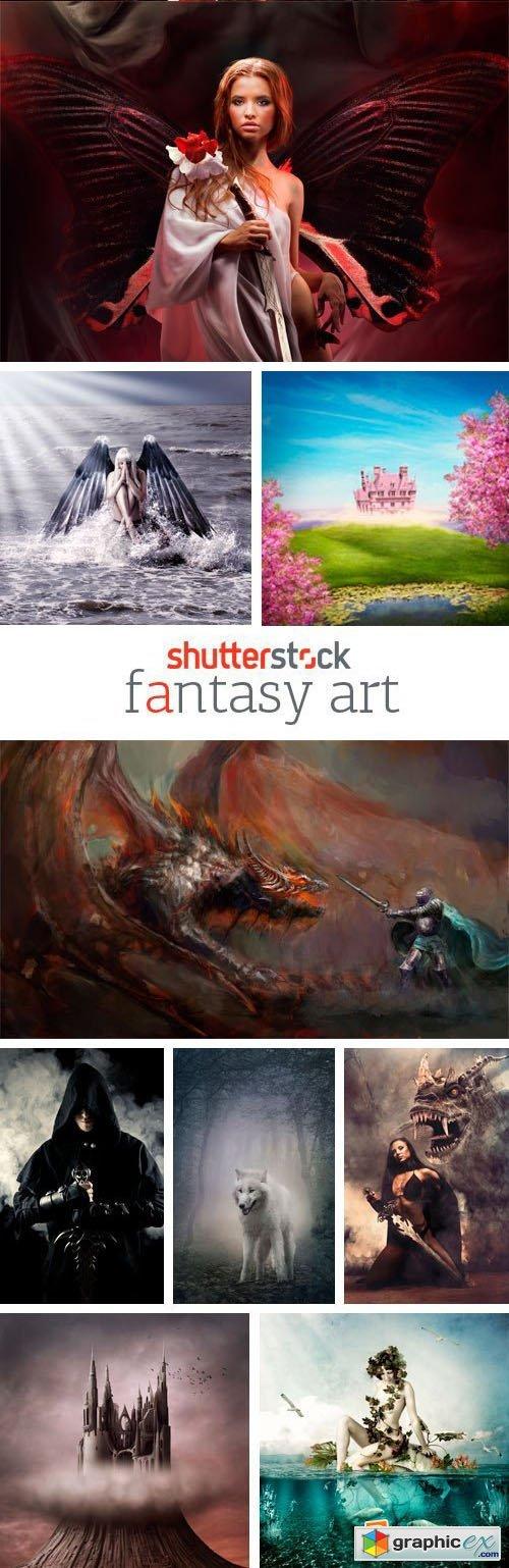 Amazing SS - Fantasy Art, 25xJPGs