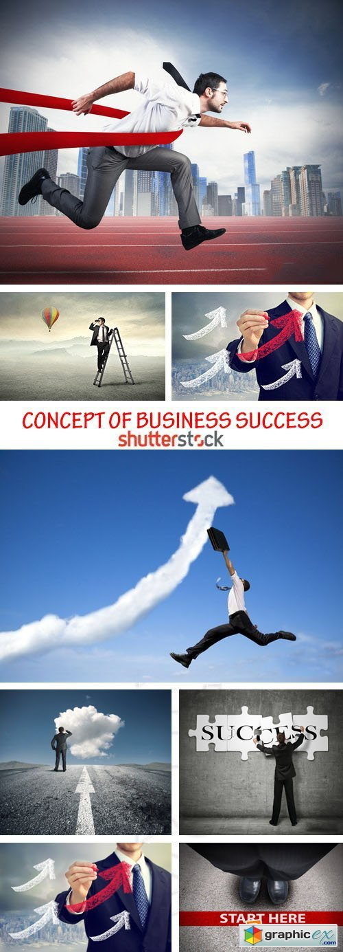 Amazing SS - Concept of business success 25xJPG