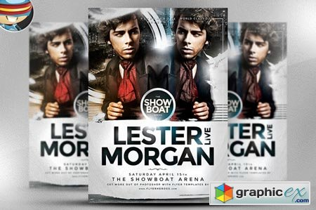 Creativemarket Morgan Flyer Template 34573
