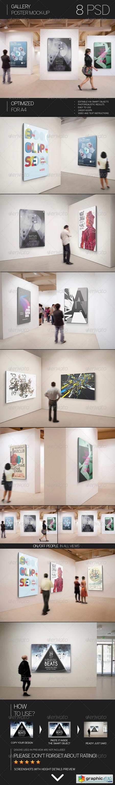 Gallery Poster Mock-Up 7493149