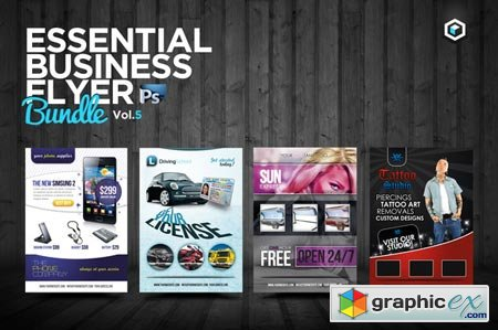Creativemarket RW Essential Business Flyers Vol 5 1887
