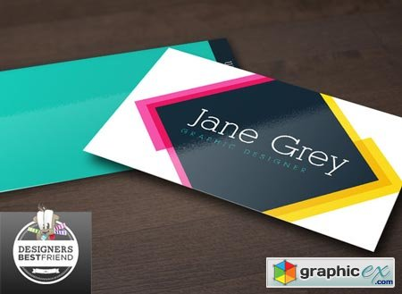 Creativemarket Rainbow Special Business Cards 29389