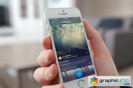 Creativemarket Instagram iOS App Redesign 29359