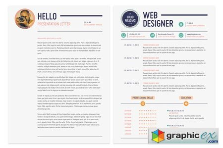 Creativemarket This is it Resume 14780