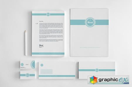 Creativemarket Mosai - Corporate Identity 3913