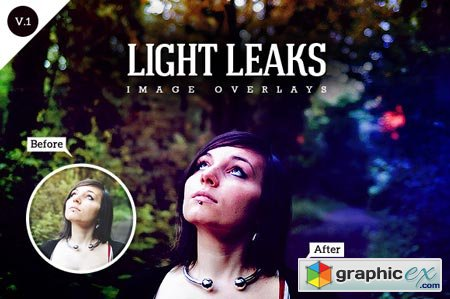 Creativemarket Light Leaks (Image Overlays)